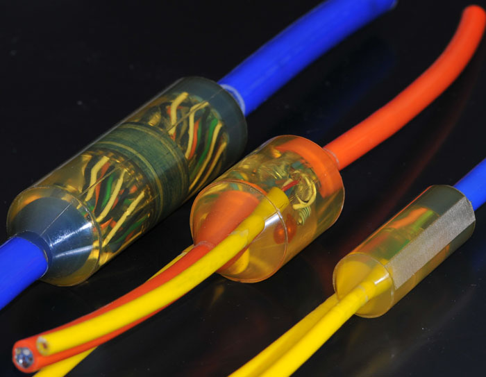 Underwater Custom Cable Assemblies : Cre moulding services subsea cables terminations